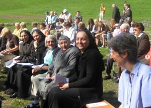 Gottesdienst im Freien