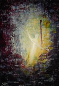 Auferstehungsbild von Irmgard Seidl