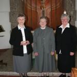 Sr. Anni, Sr. Gertrud, Sr. Birgit
