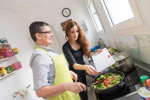Kochen mit und für die WG